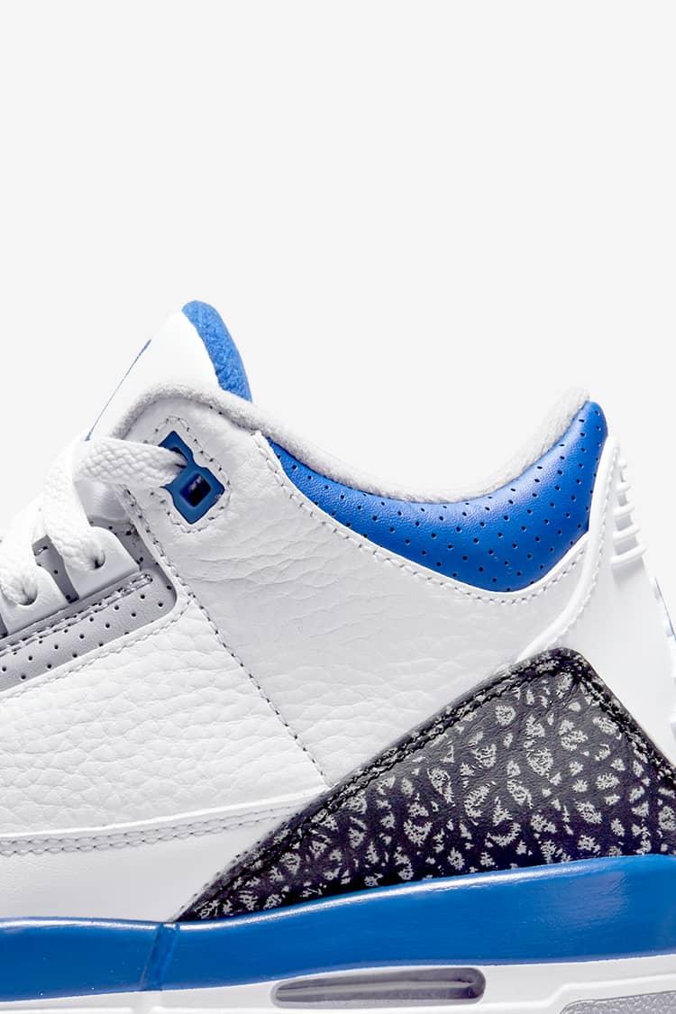 Air Jordan 3 Retro 'Racer Blue' Release Date. Nike SNKRS LU