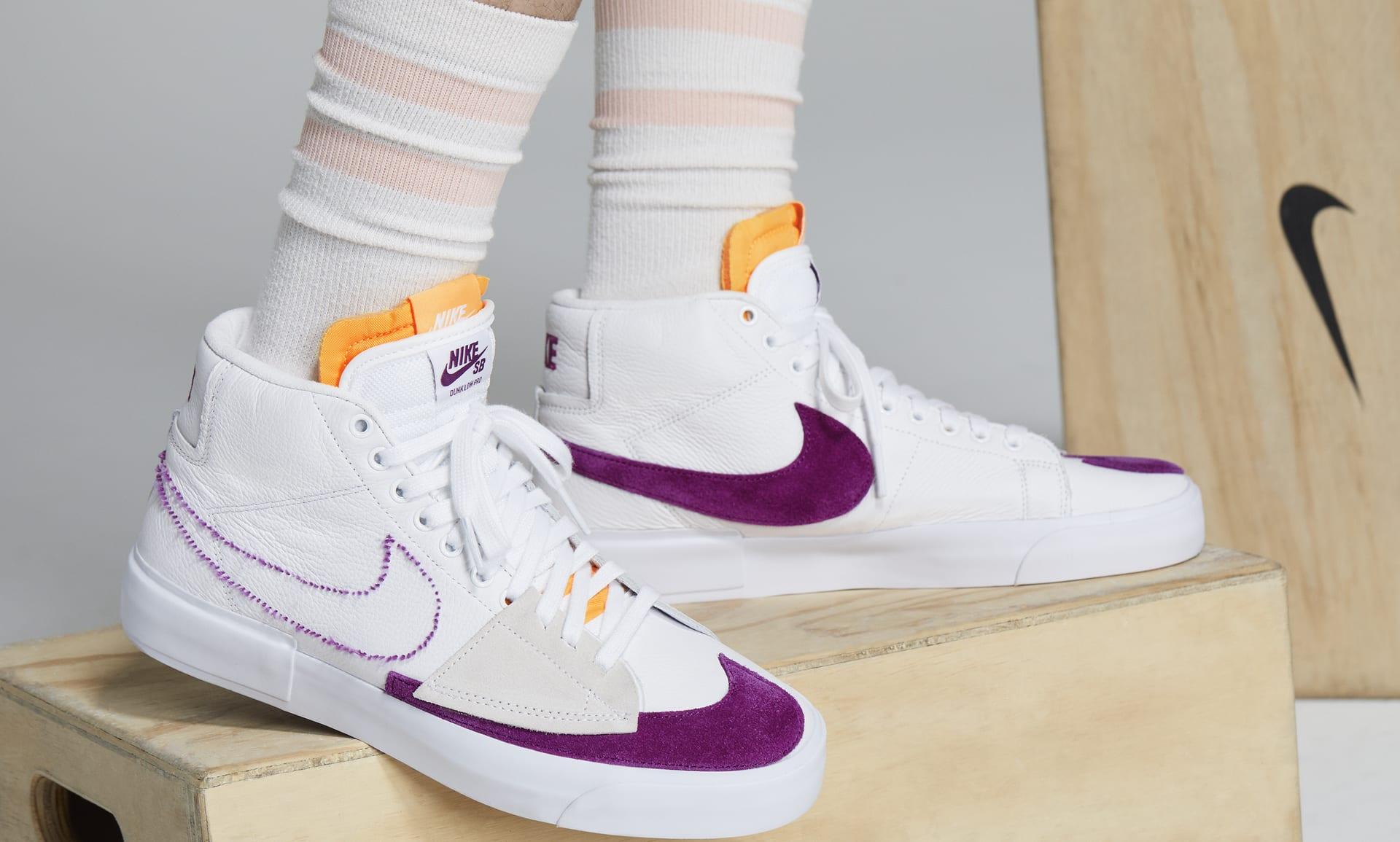 Nike SB Zoom Blazer Mid Edge Skate Shoe. Nike LU