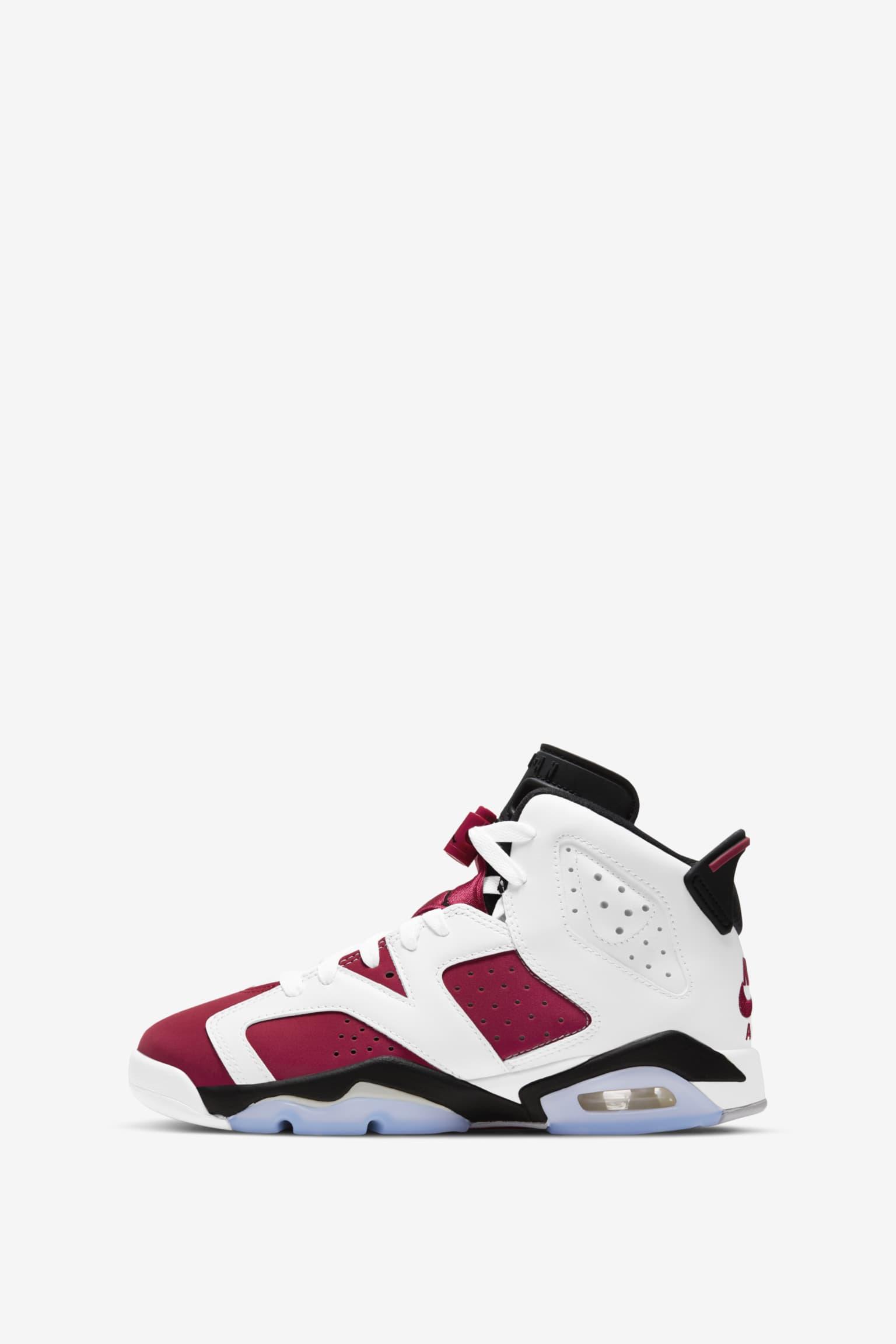 Air Jordan 6 'Carmine' Release Date . Nike SNKRS