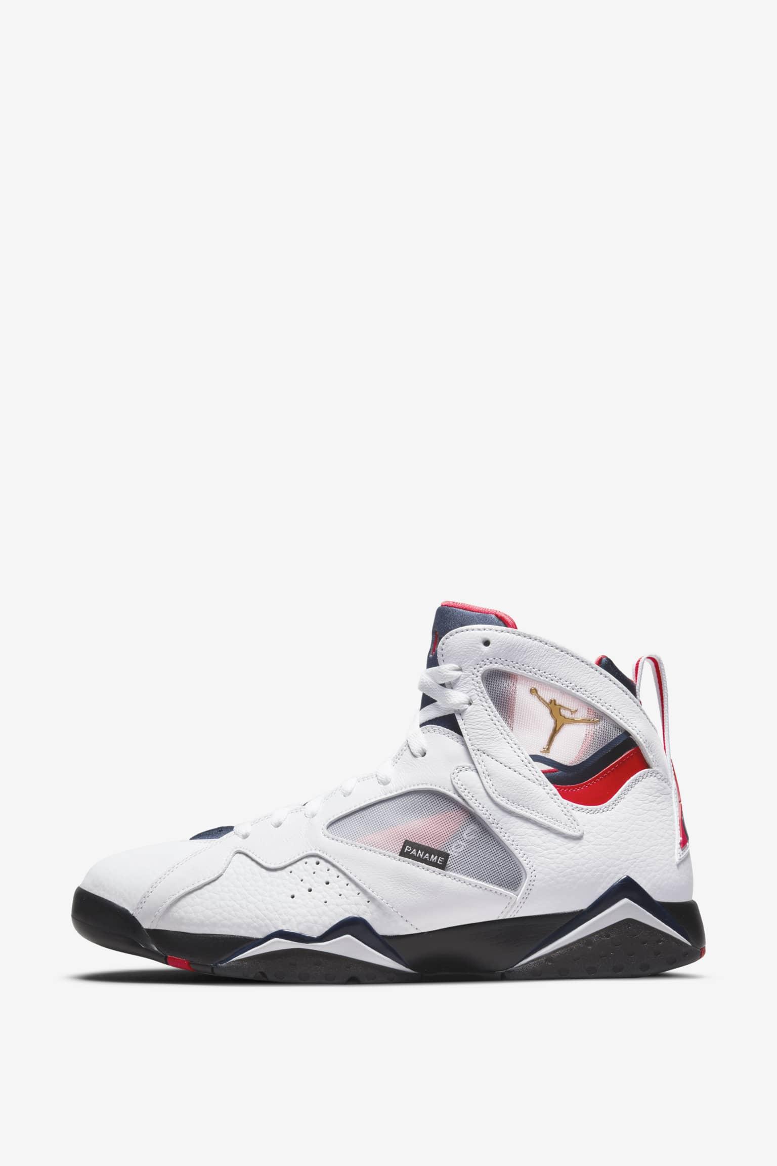 Air Jordan 7 'Paris Saint-Germain' Release Date. Nike SNKRS ID