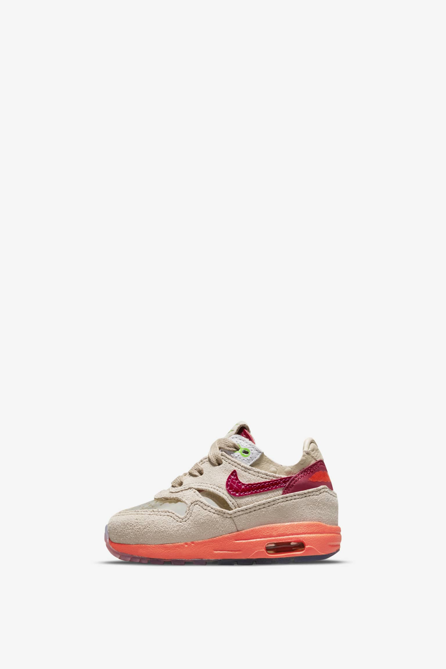 Younger Kids' Air Max 1 x CLOT 'Net' Release Date. Nike SNKRS MY