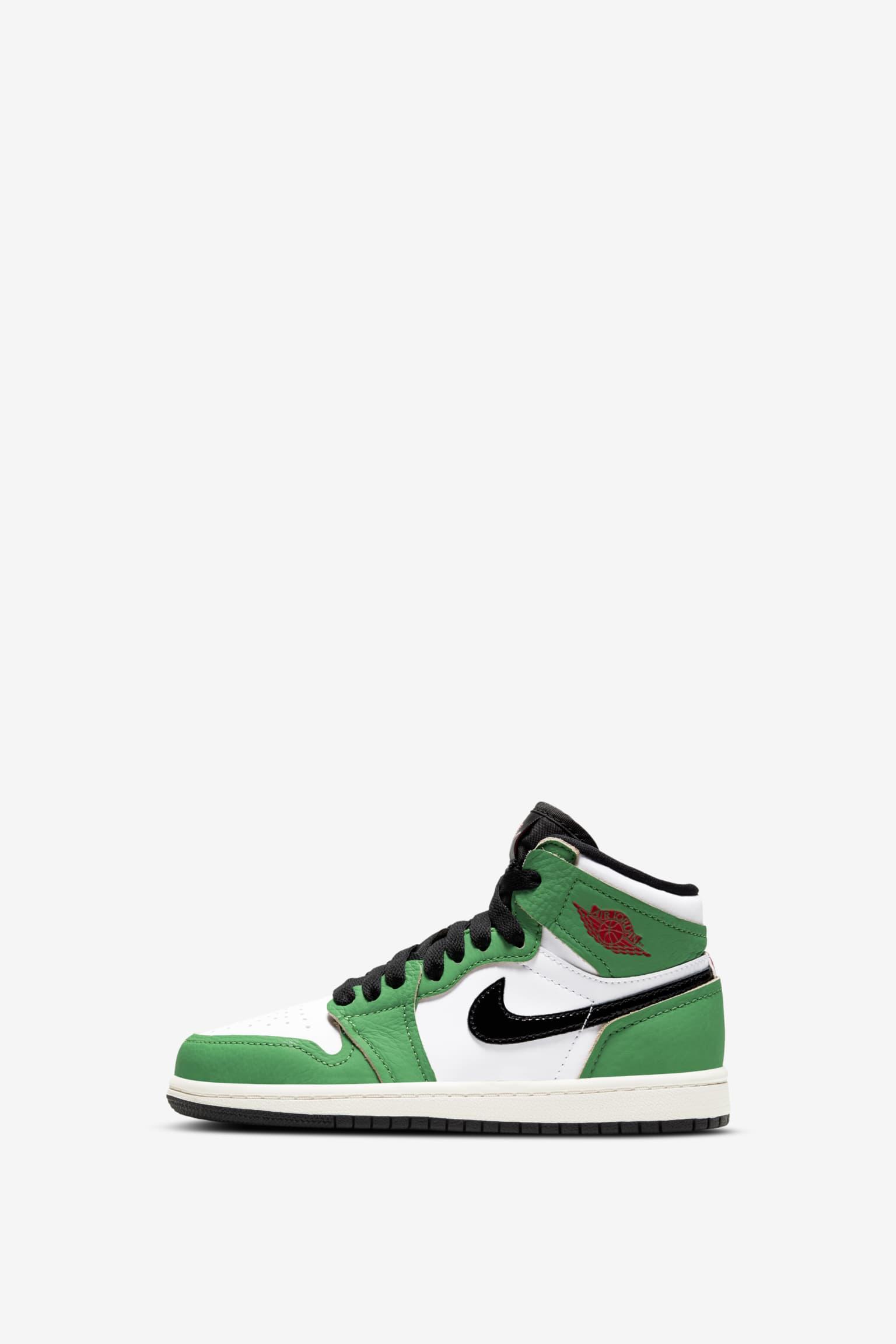 Womens Air Jordan 1 'Lucky Green