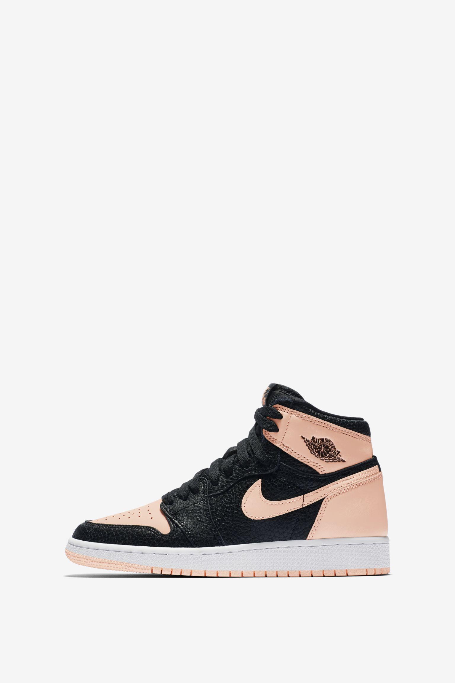 Air Jordan 1 'Black & Hyper Pink' Release Date. Nike SNKRS