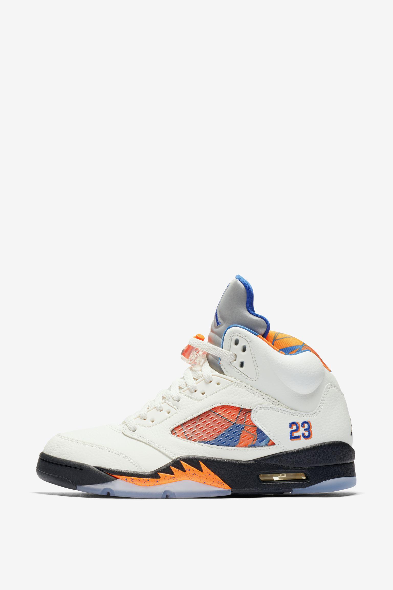 Air Jordan 5 Retro 'Sail & Racer Blue' Release Date. Nike SNKRS