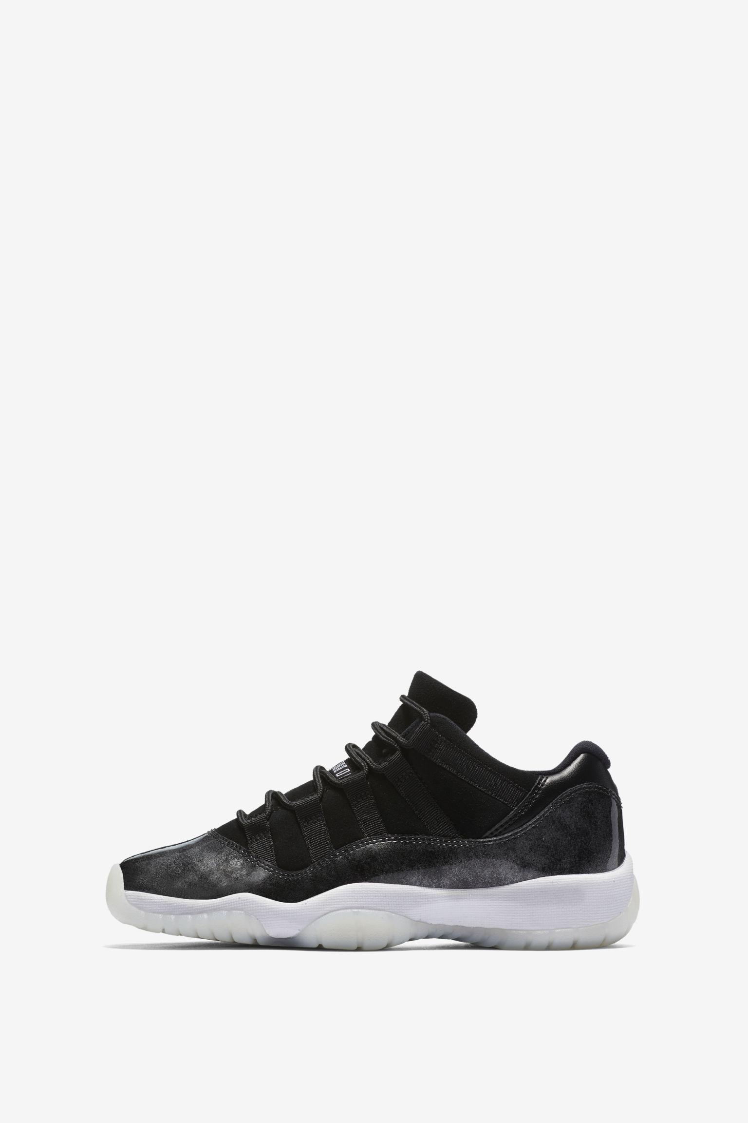 Air Jordan 11 Retro Low 'Black & White' Release Date. Nike SNKRS