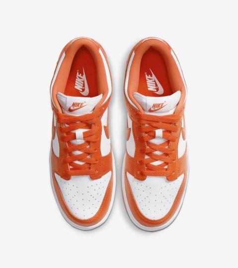 Lanseringsdato for Dunk Low «Orange Blaze». Nike SNKRS NO