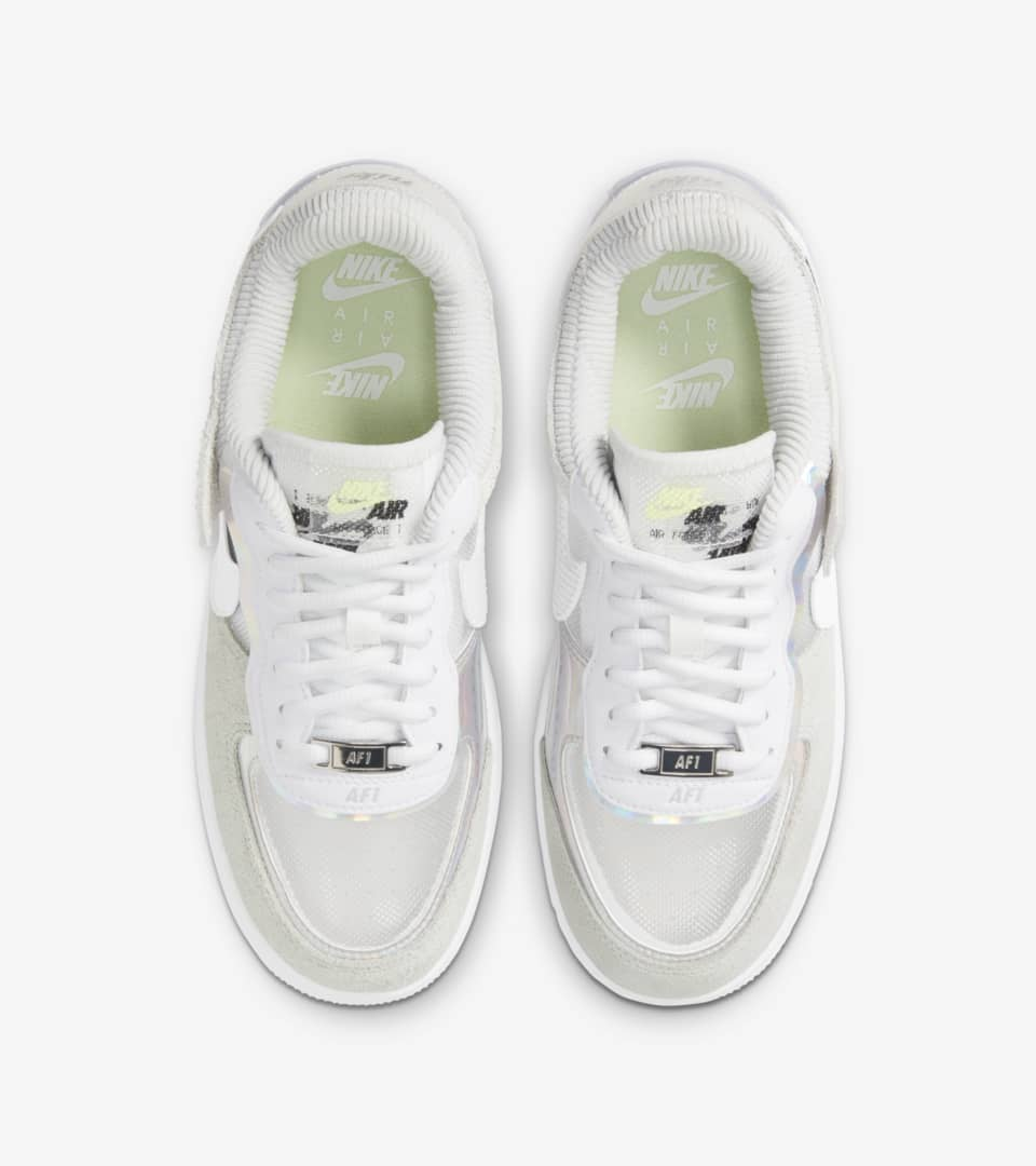 Women's Air Force 1 Shadow 'Pure Platinum' Release Date. Nike SNKRS SG
