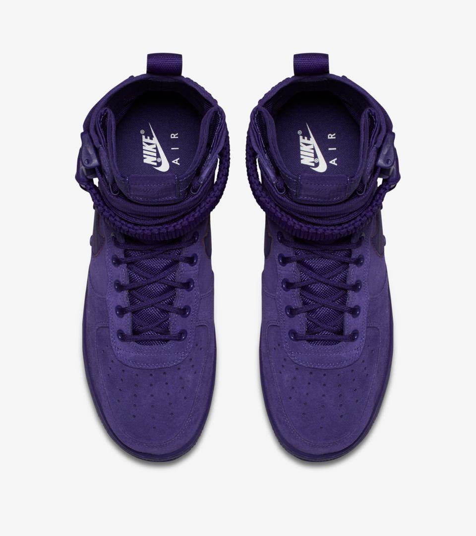 Air Force 1 High 'Court Purple'