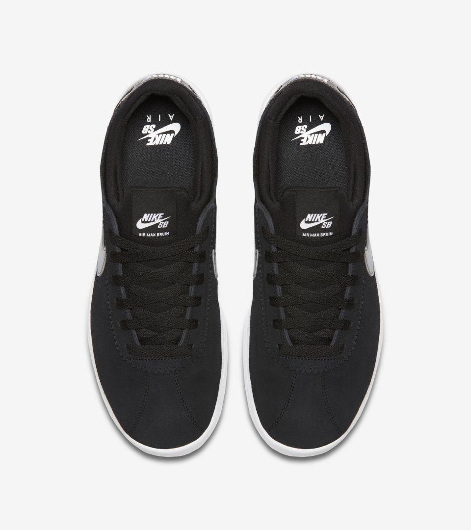 Nike SB Air Max Bruin Vapor 'Black & White'. Nike SNKRS LU