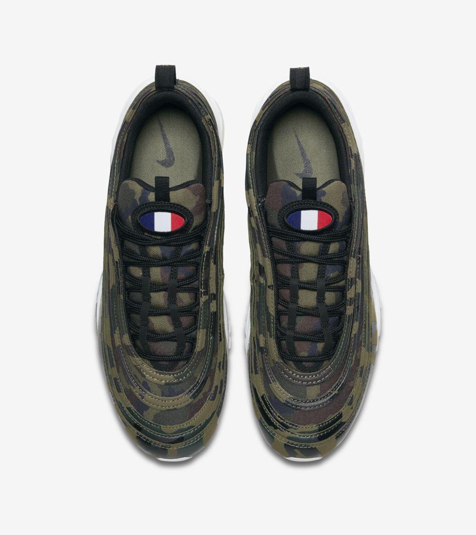 Nike Air Max 97 Premium 'France' Release Date. Nike SNKRS GB