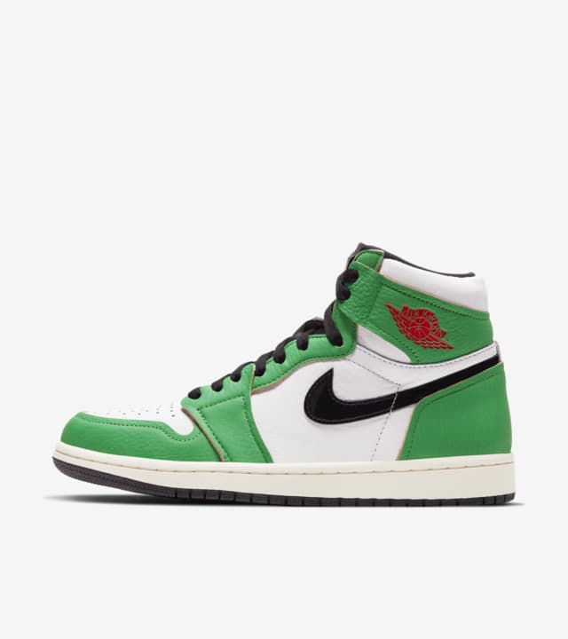 【NIKE公式】ウィメンズ エア ジョーダン 1 'Lucky Green' (WMNS AJ 1 HIGH OG / DB4612-300)