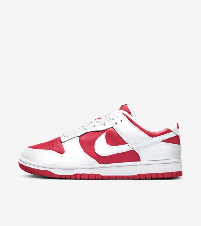 Release Reminder – Nike Dunk Low 'Championship Red'