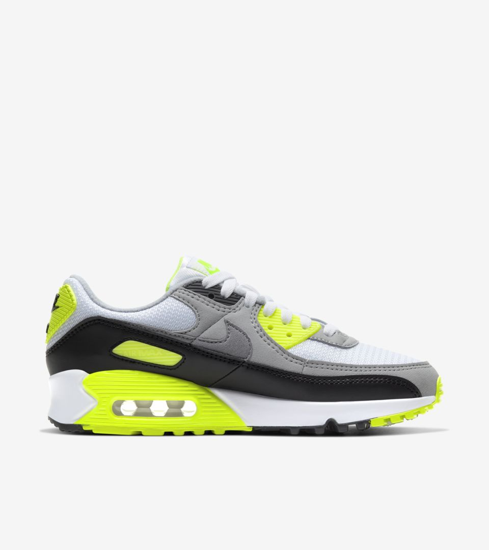 Women's Air Max 90 'Volt/Particle Grey' Release Date. Nike SNKRS MY