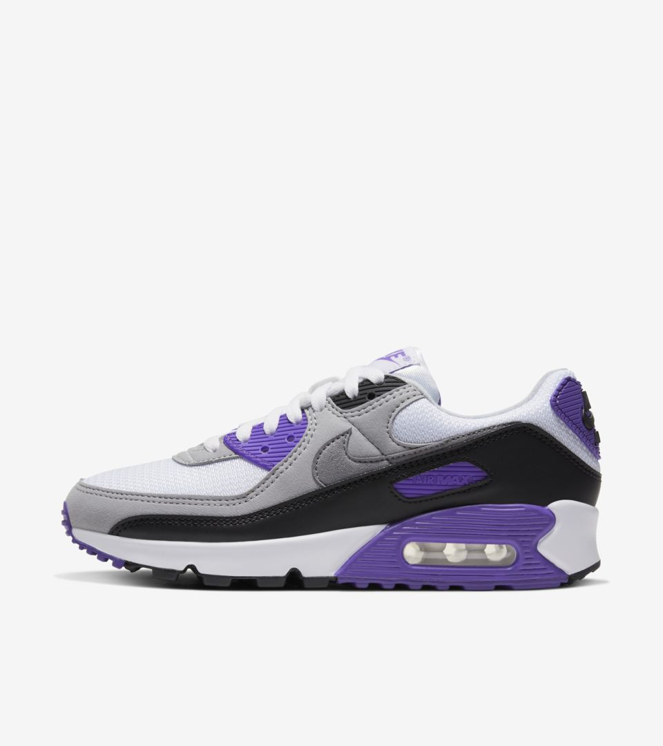Women's Air Max 90 'Hyper Grape/Particle Grey' Release Date. Nike ...