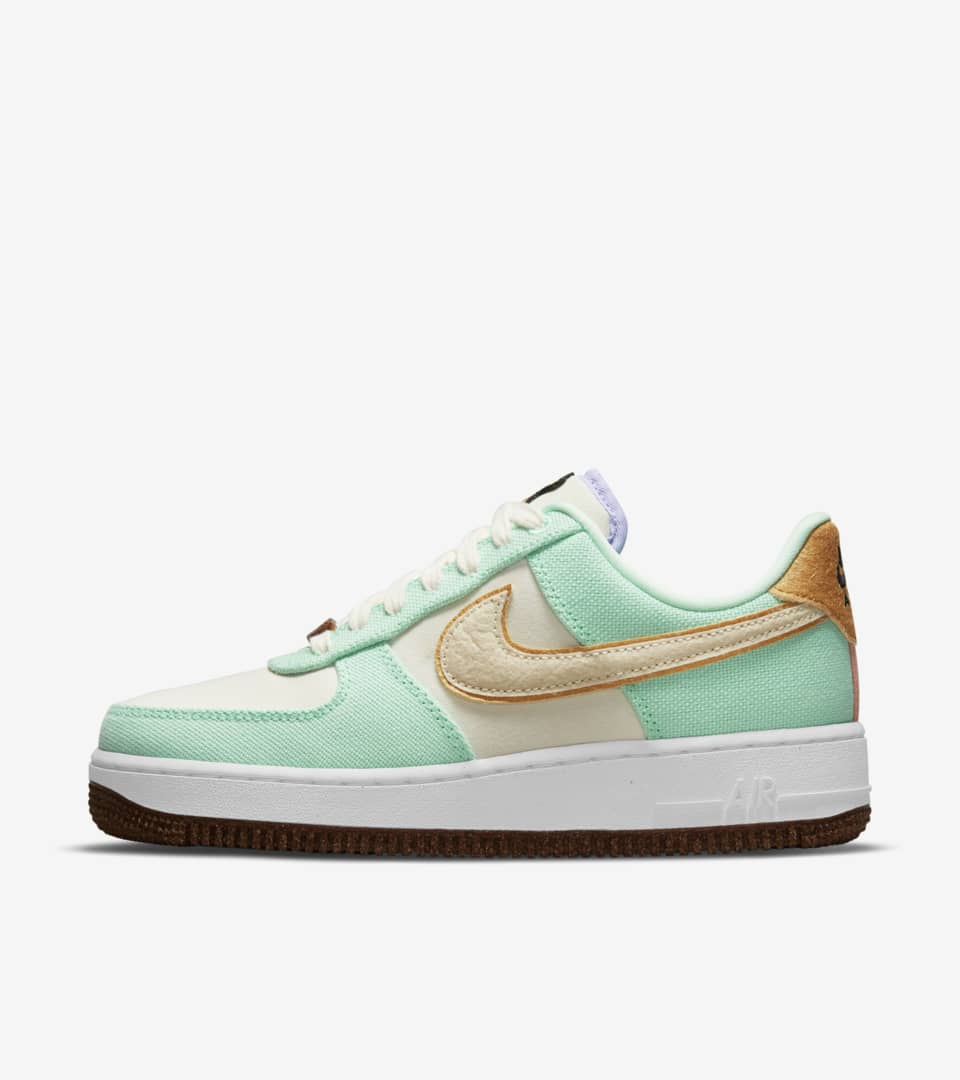 Women's Air Force 1 'Pineapple Canvas' Release Date. Nike SNKRS IN
