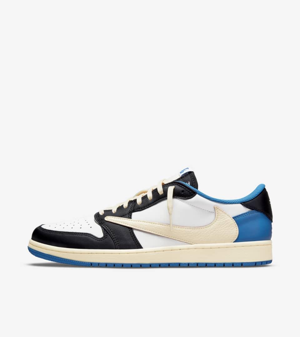 Air Jordan 1 Low 'Travis Scott x Fragment' Release Date. Nike SNKRS IN