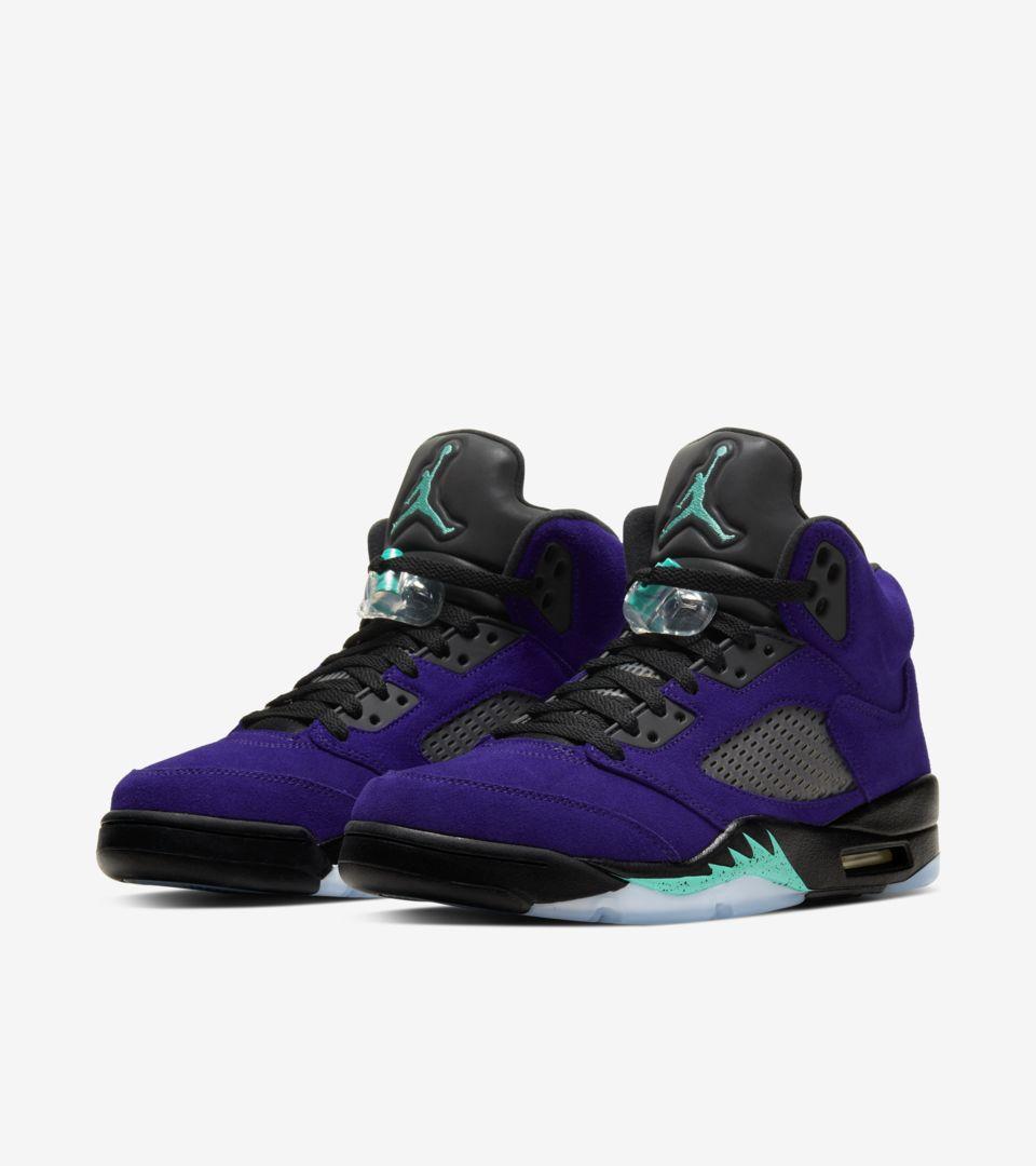 Air Jordan 5 'Purple Grape' Release