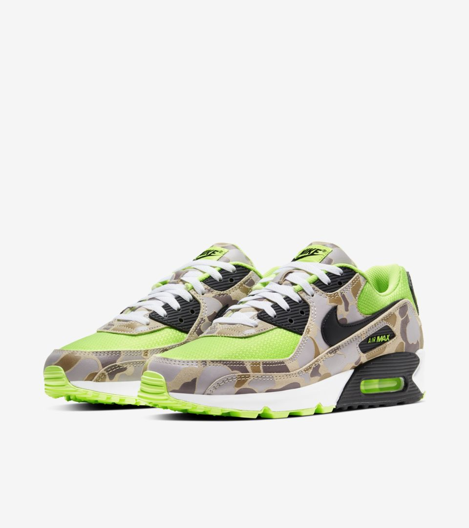 Air Max 90 'Green Camo' Release Date. Nike SNKRS PH