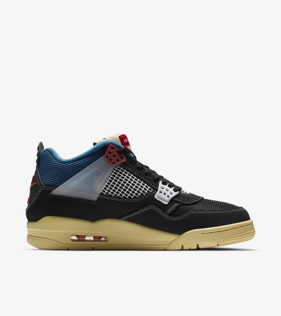 Air Jordan 4 x UNION LA 'Off Noir