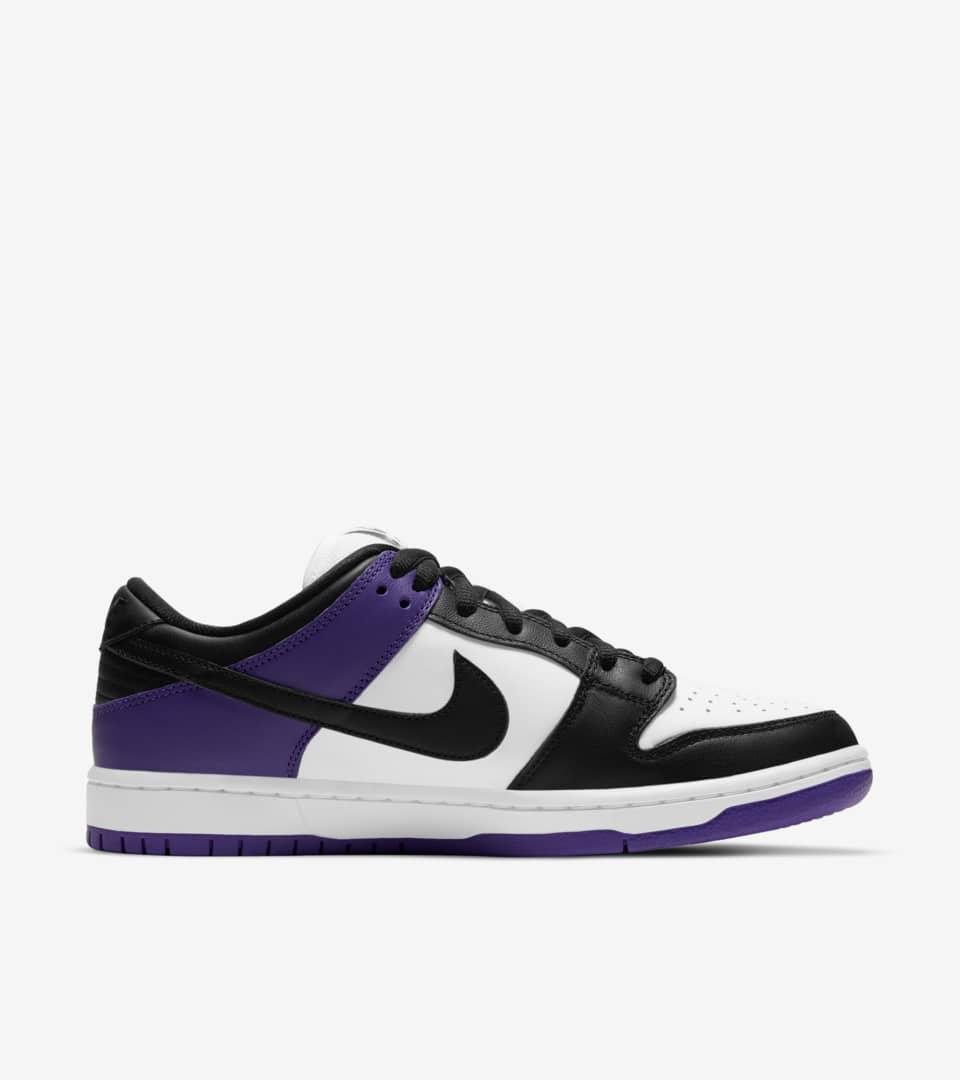 Date de sortie de la SB Dunk Low Pro « Court Purple ». Nike SNKRS BE