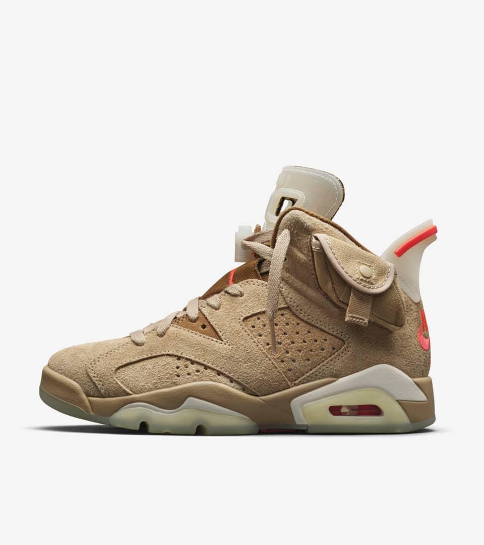 Air Jordan 6 'Travis Scott' Release Date. Nike SNKRS