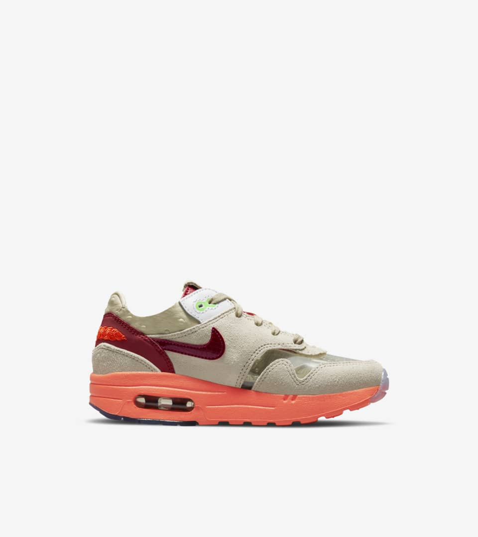 Younger Kids' Air Max 1 x CLOT 'Net' Release Date. Nike SNKRS CA