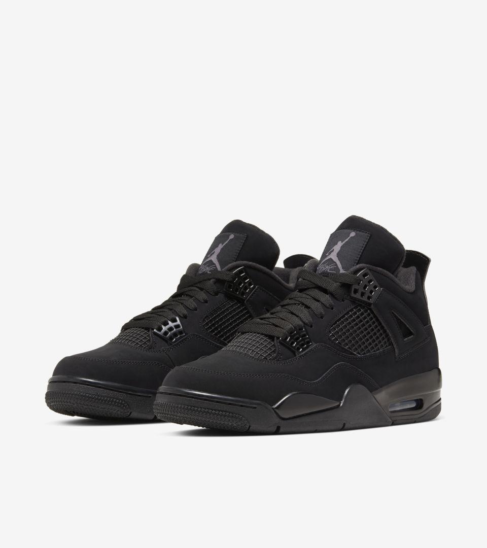 Air Jordan IV 'Black Cat' Release Date. Nike SNKRS