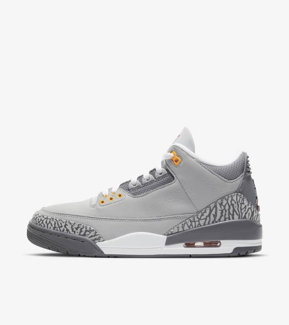 Air Jordan 3 'Cool Grey' Release Date. Nike SNKRS