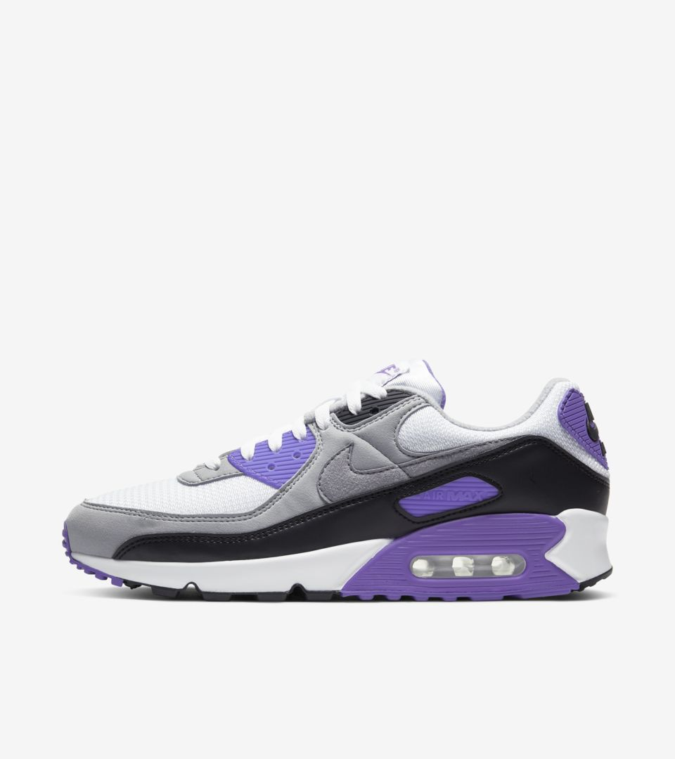 Air Max 90 'Hyper Grape/Particle Grey' Release Date. Nike SNKRS IN