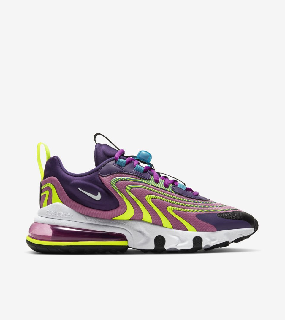 Women's Air Max 270 React ENG 'Eggplant/White' Release Date. Nike ...