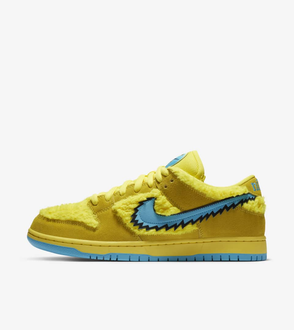 SB Dunk Low Pro x Grateful Dead 'Opti Yellow' Release Date ...