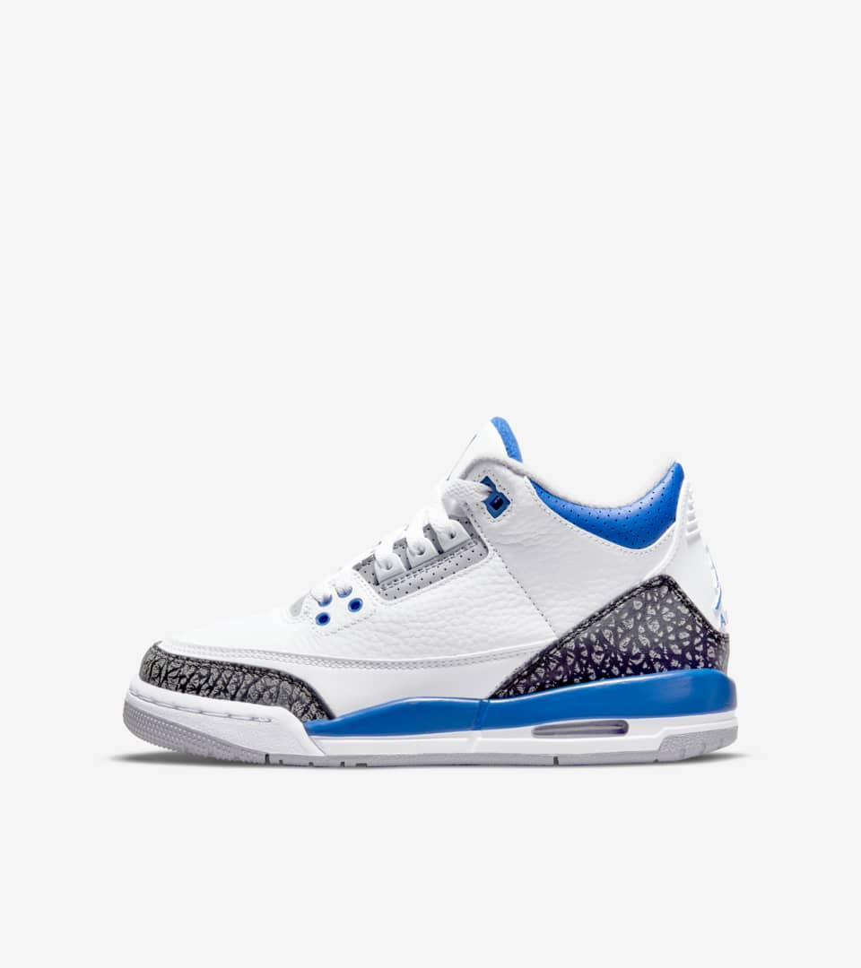 Air Jordan 3 Retro 'Racer Blue' Release Date. Nike SNKRS AE