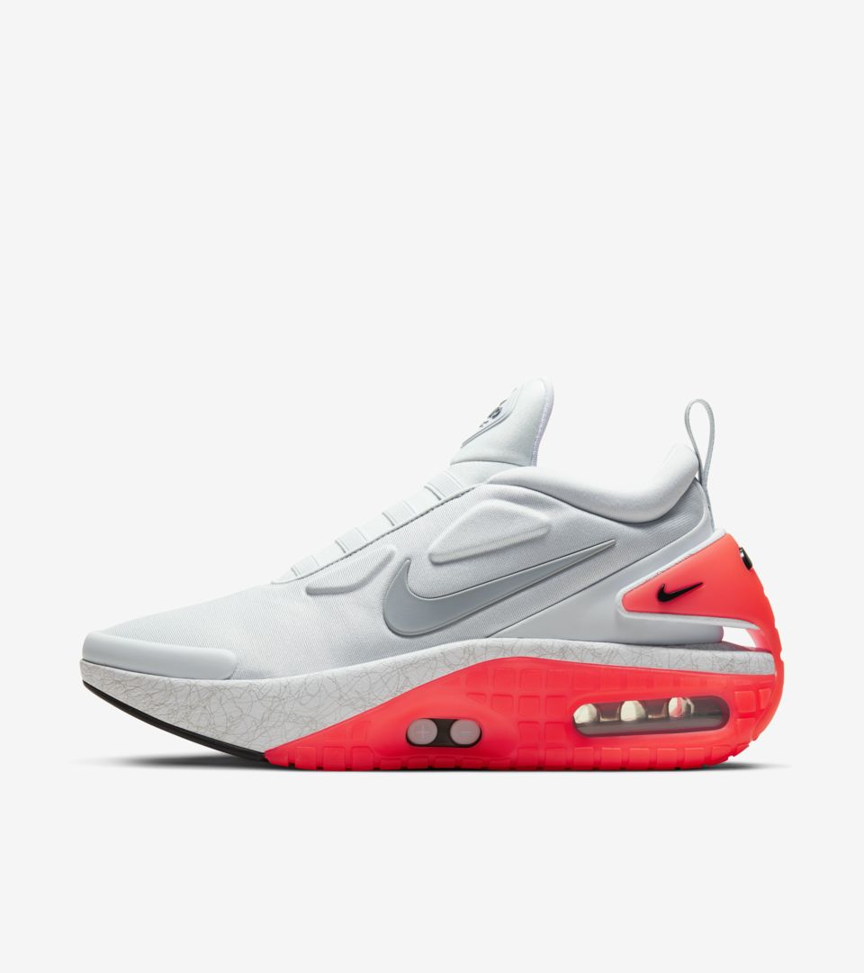 Adapt Auto Max 'Pure Platinum' Release Date. Nike SNKRS NO