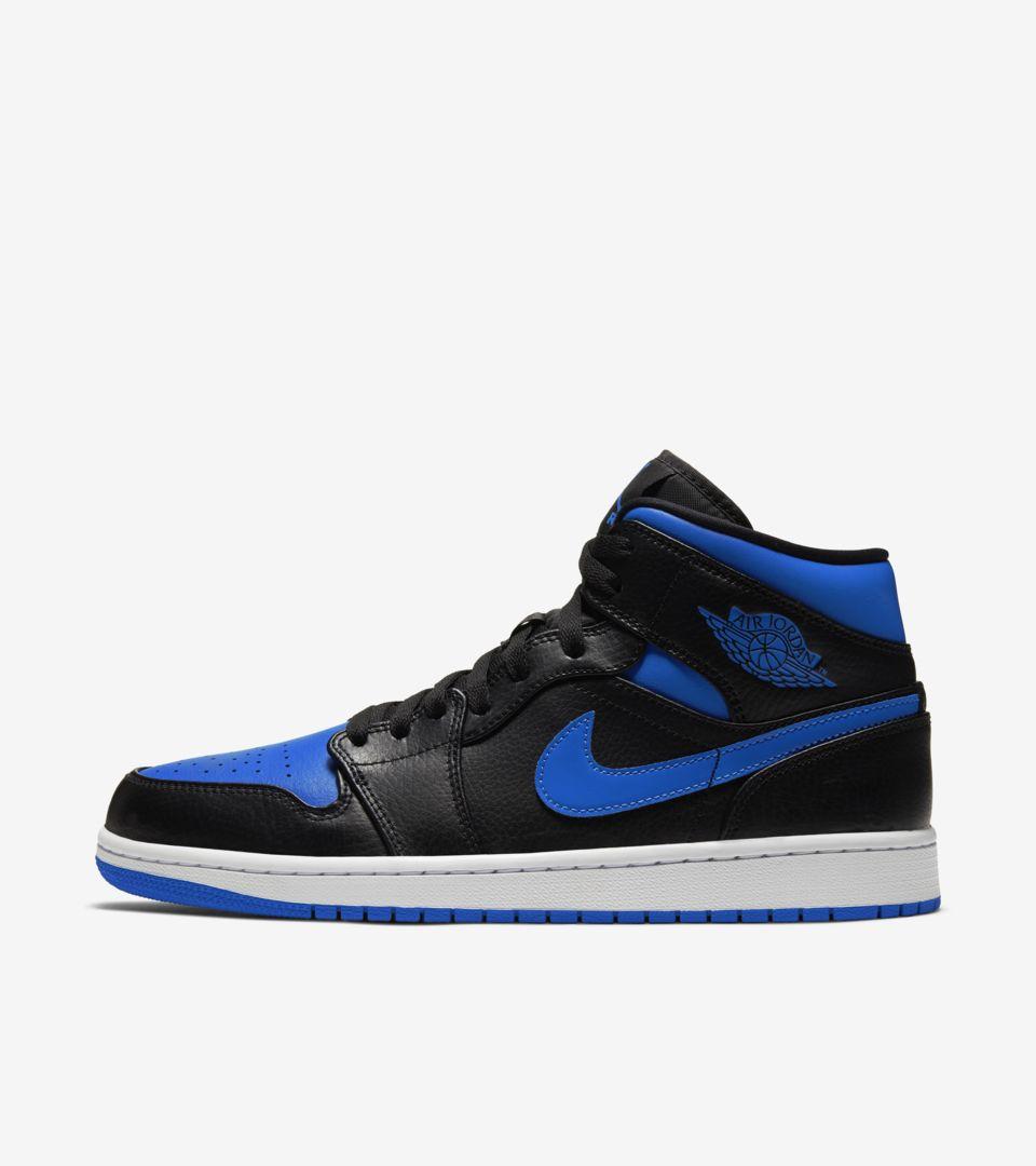 Air Jordan 1 Mid 'Hyper Royal' Release Date. Nike SNKRS MY