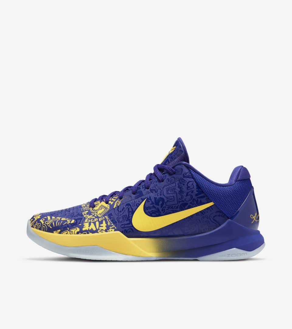 Kobe 5 Protro '5 Rings' 發售日期. Nike