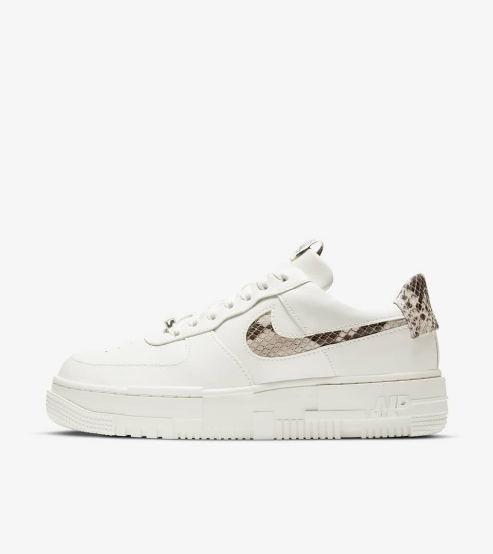 Women's Air Force 1 Pixel 'Sail Snake' Release Date . Nike SNKRS PH