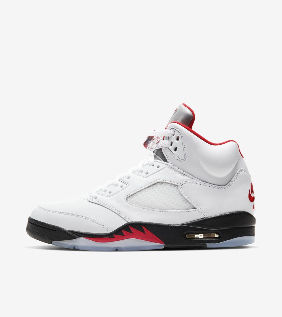 Air Jordan 5 'Fire Red' Release Date