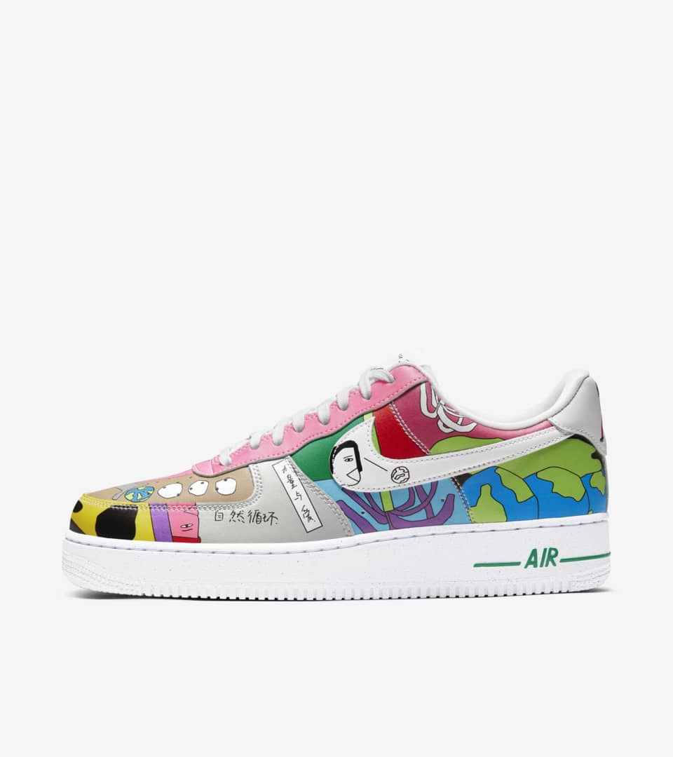 Air Force 1 Flyleather 'Ruohan Wang
