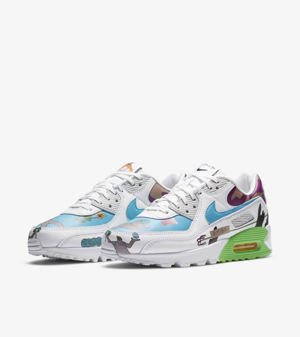 Air Max 90 Flyleather 'Ruohan Wang' Release Date. Nike SNKRS IN