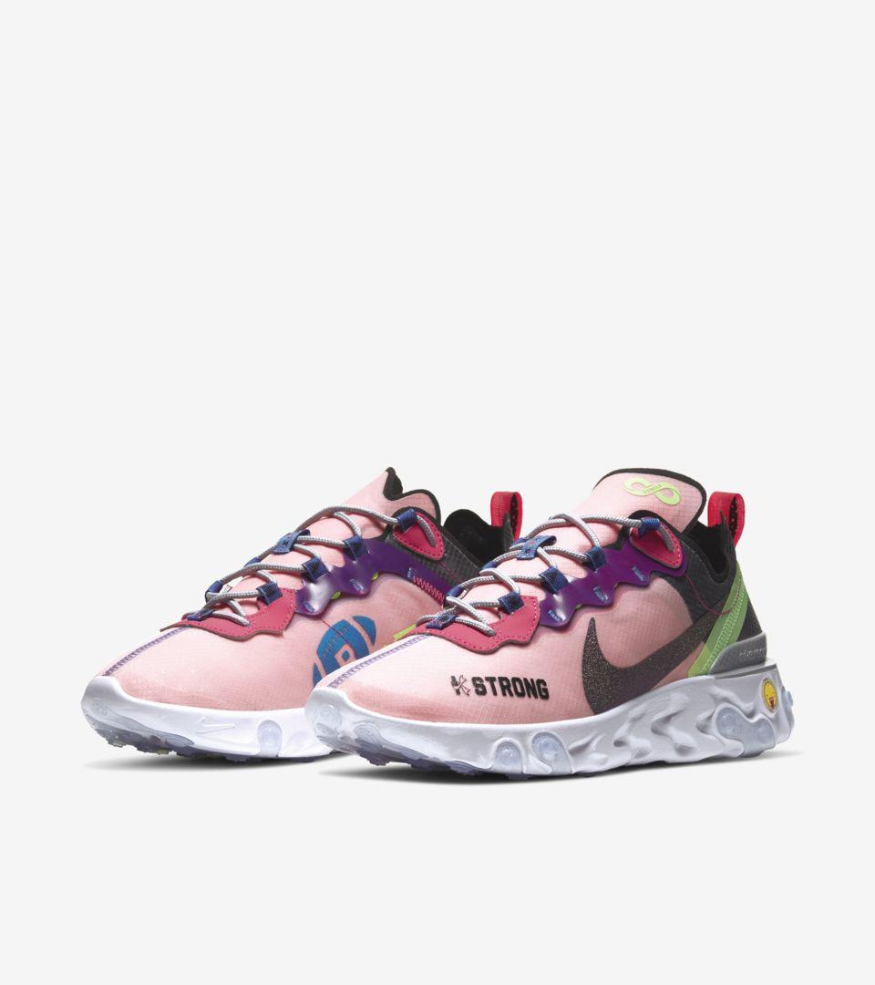 Kahleah's Nike React Element 55 (Doernbecher Freestyle)