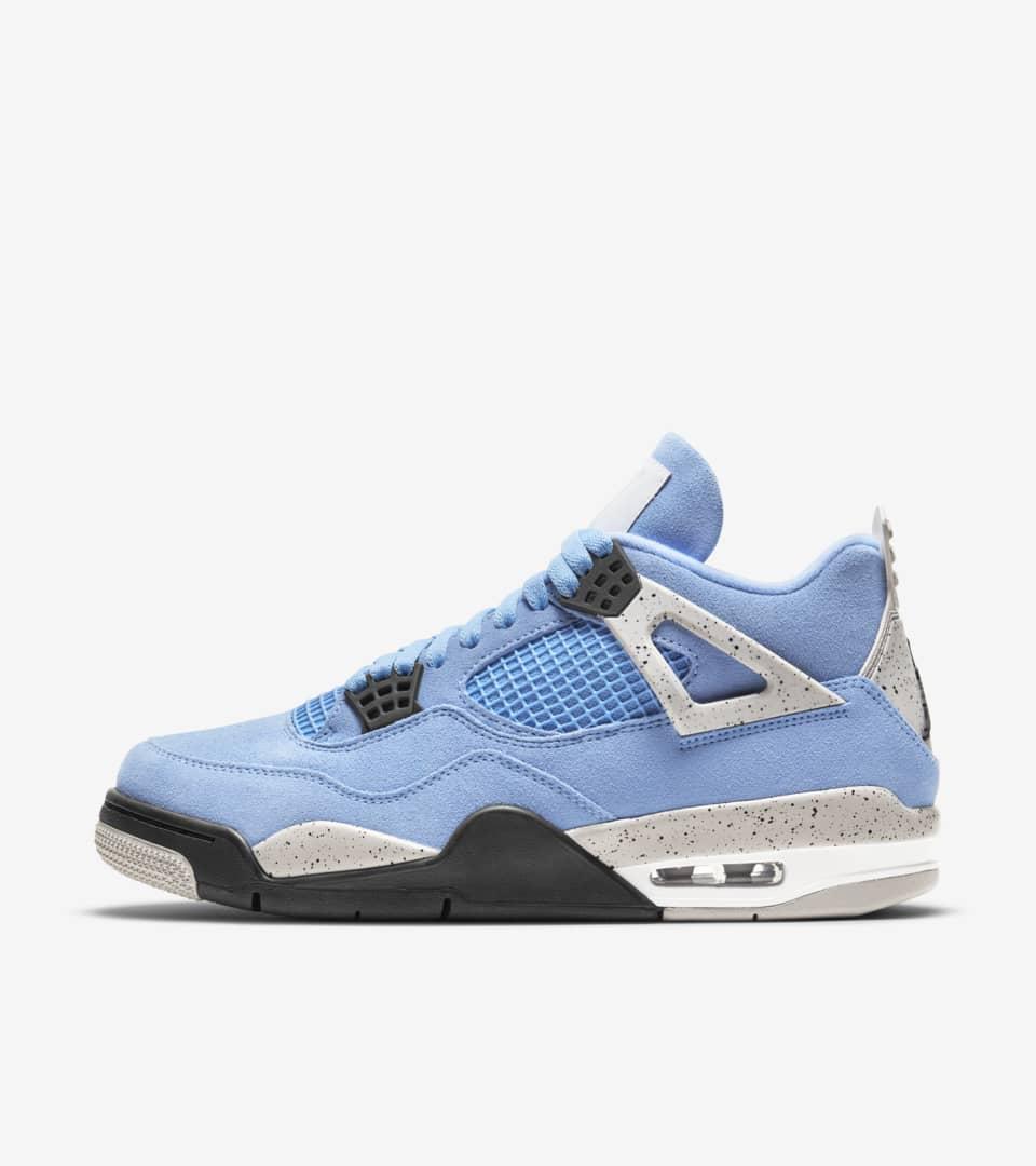 Air Jordan 4 'University Blue' Release Date. Nike SNKRS