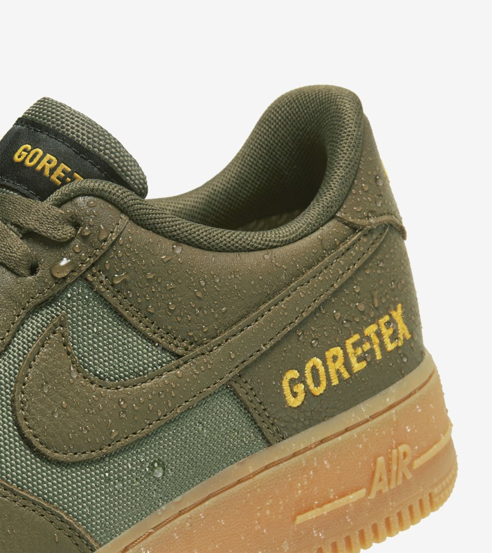Air Force 1 Low GORE-TEX 'Olive/Sequoia' Release Date. Nike SNKRS ID