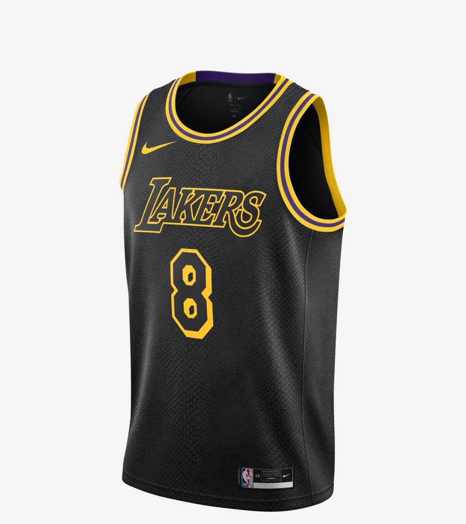Lakers Edition Jersey 'Black Mamba