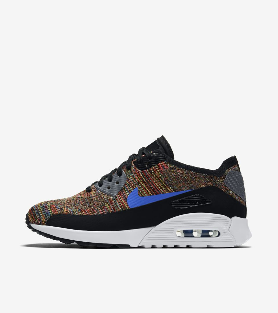 Nike Air Max 90 Ultra 2.0 Flyknit « MultiColor » pour Femme. Nike ...
