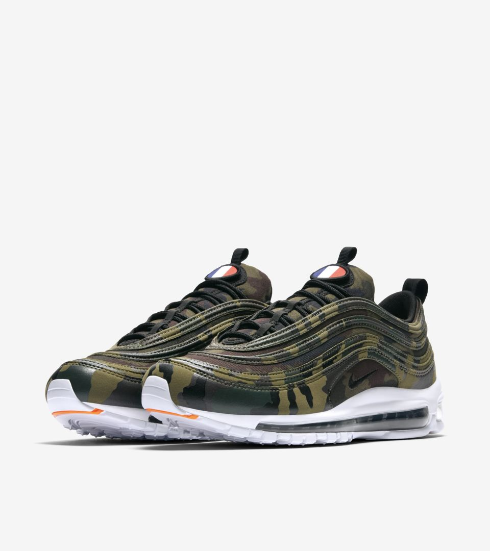 Nike Air Max 97 Premium 'France' Release Date. Nike SNKRS CZ