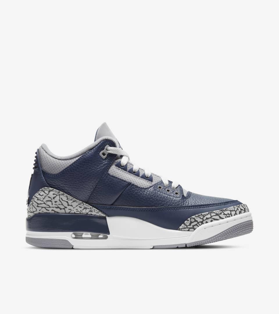 Air Jordan 3 'Midnight Navy' Release Date. Nike SNKRS
