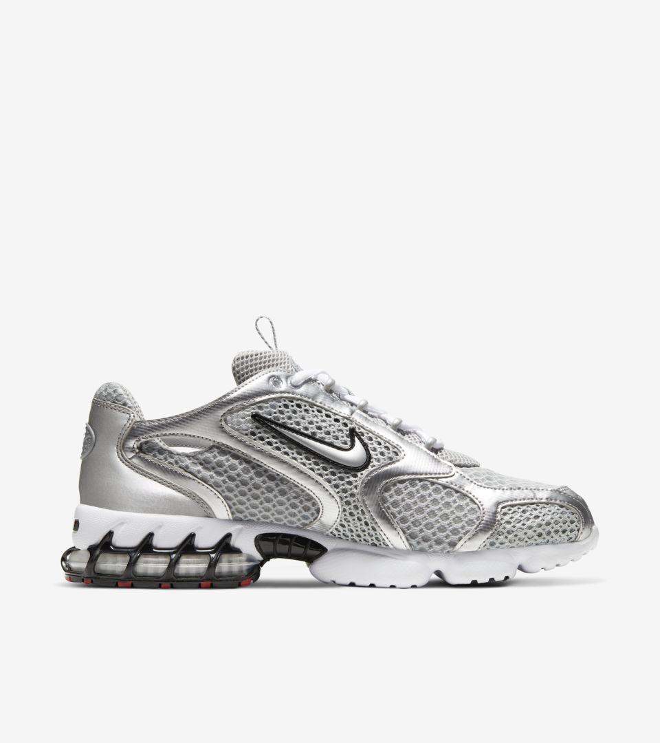 Air Zoom Spiridon Cage 2 'Metallic Silver' Release Date. Nike SNKRS ZA