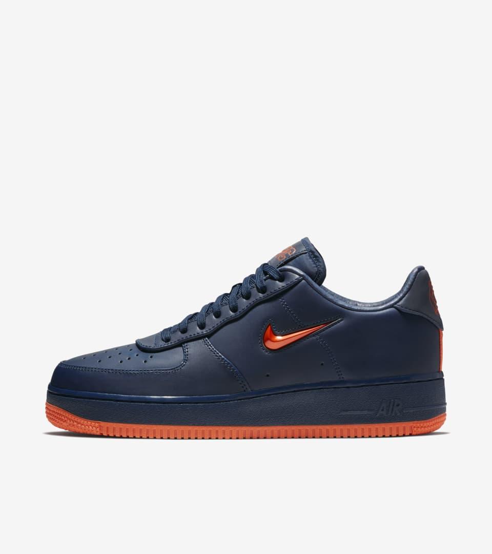 Nike Air Force 1 Mid 'Obsidian & Brilliant Orange' Release Date ...