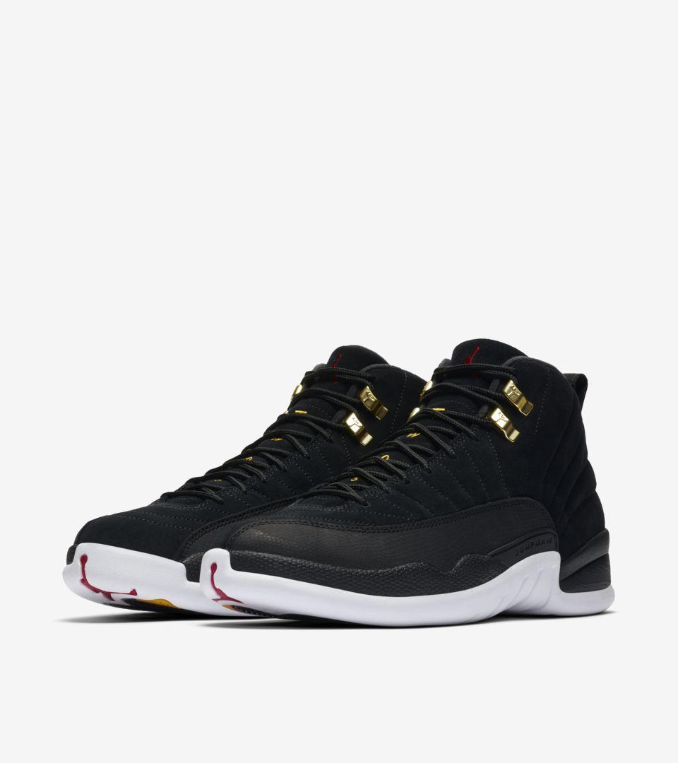 Air Jordan XII 'Black/White' Release Date. Nike SNKRS