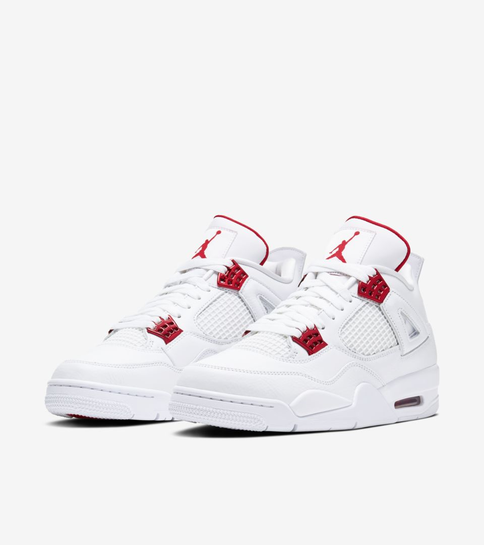 air jordan retro 4 blanche